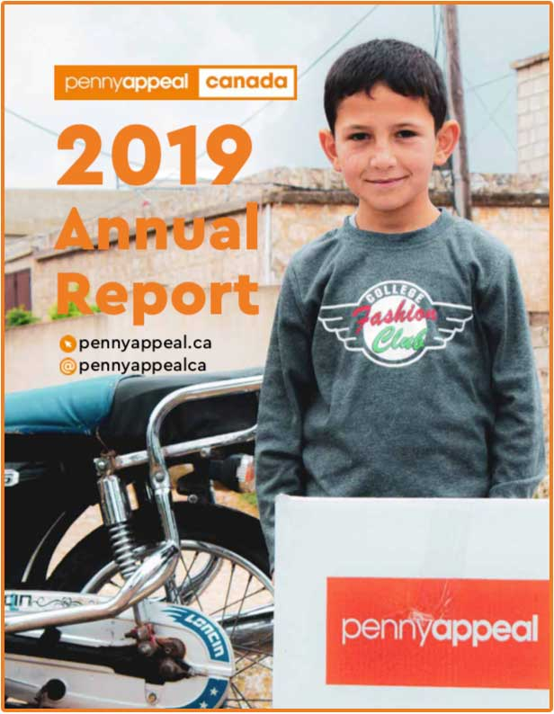 Penny Appeal Canada 2019 Annual Report