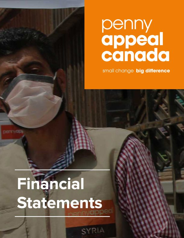 Penny Appeal Canada Financial Statements