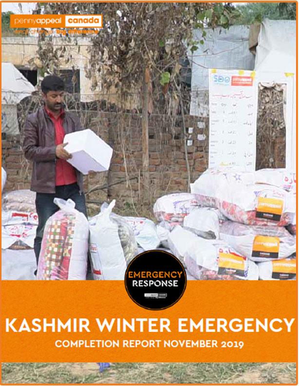 Kashmir Winter Emergency Completion Report November 2019