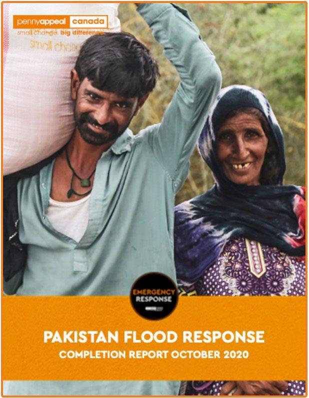 Pakistan Flood Response Completion Report October 2020