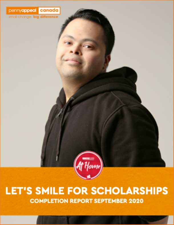 Let's Smile For Scholarships Completion Report September 2020